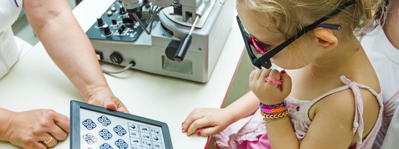 Young Girl Child Eye Exam 1280x480